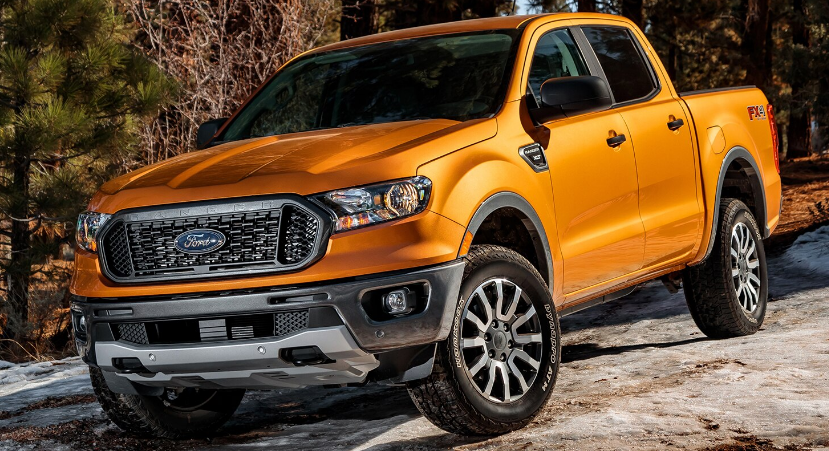 2022 Ford Ranger Manual Transmission Exterior