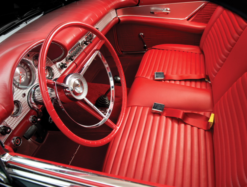 2022 Ford Thunderbird Interior