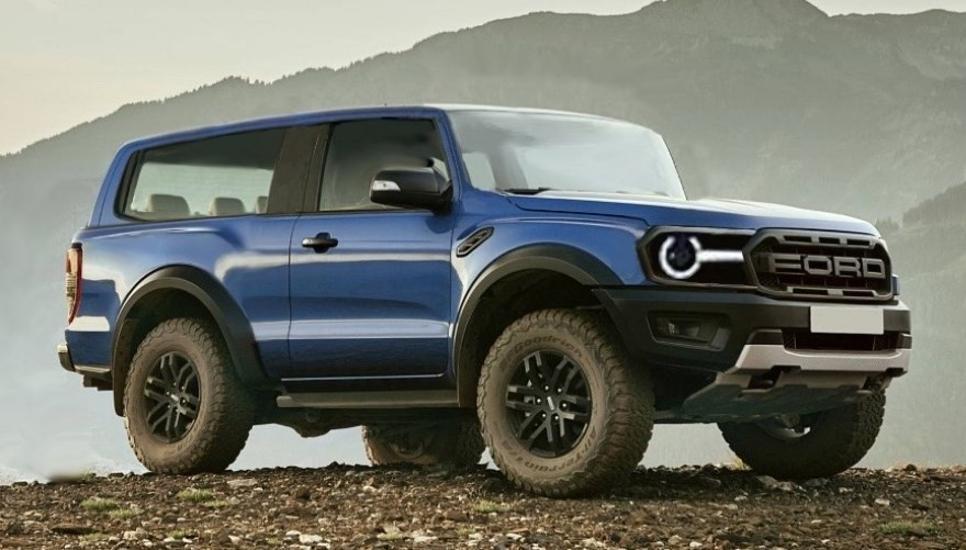 2020 Ford Bronco Rampage Exterior