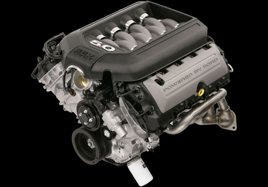 2020 Ford Gt500 Mustang Engine