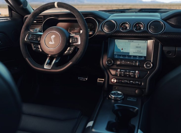 2020 Ford Mustang Shelby Interior