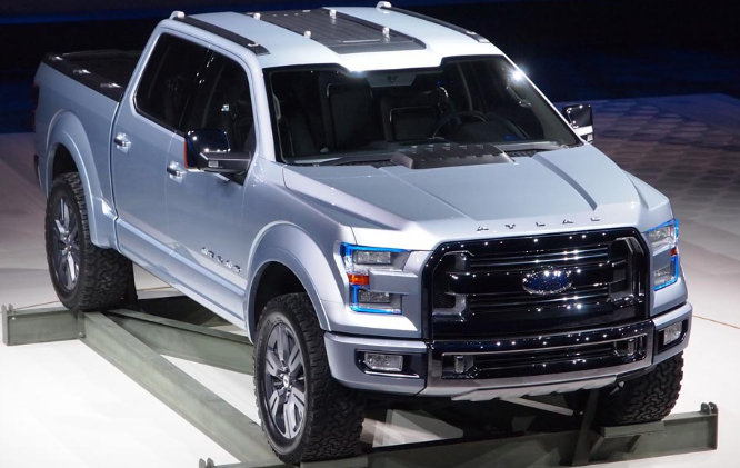 2021 Ford Atlas Exterior