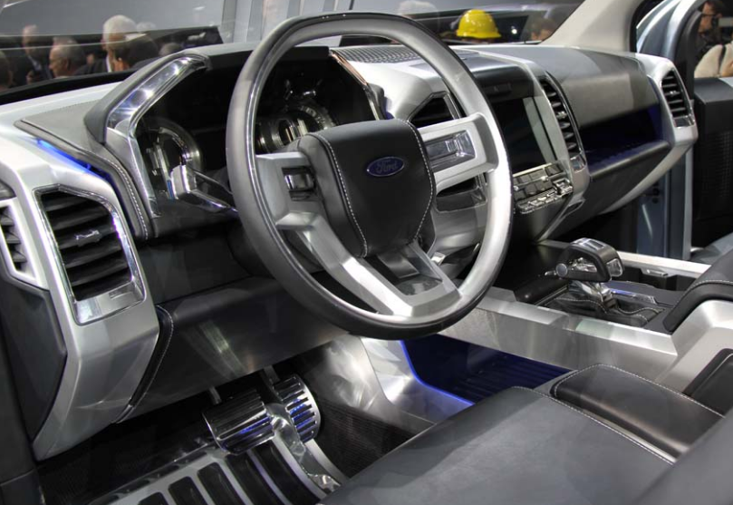 2021 Ford Atlas Interior