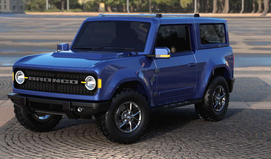 2021 Ford Bronco Dimensions Exterior