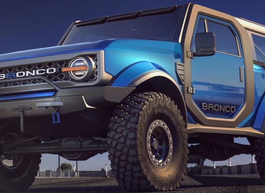2021 Ford Bronco Engine Exterior
