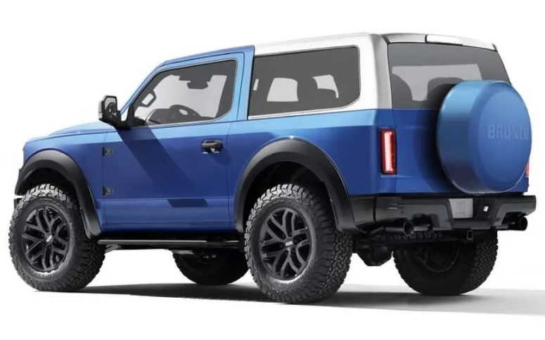 2021 Ford Bronco Engine