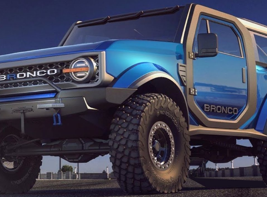 2021 Ford Bronco Expose Exterior