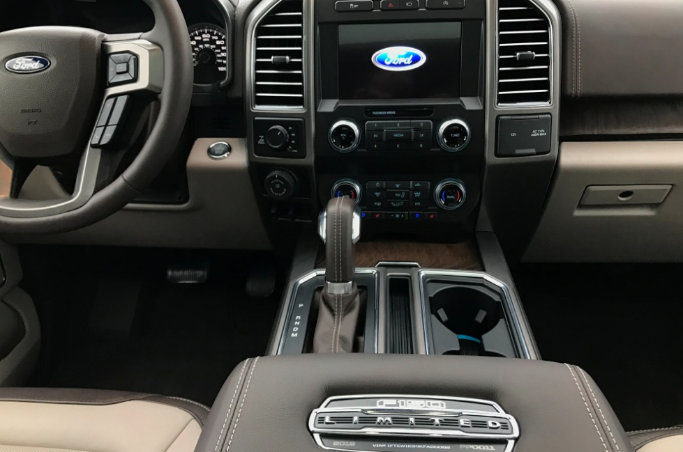 2021 Ford F 150 Limited Interior