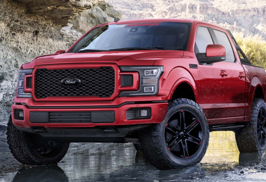 2021 Ford F150 Debut Exterior