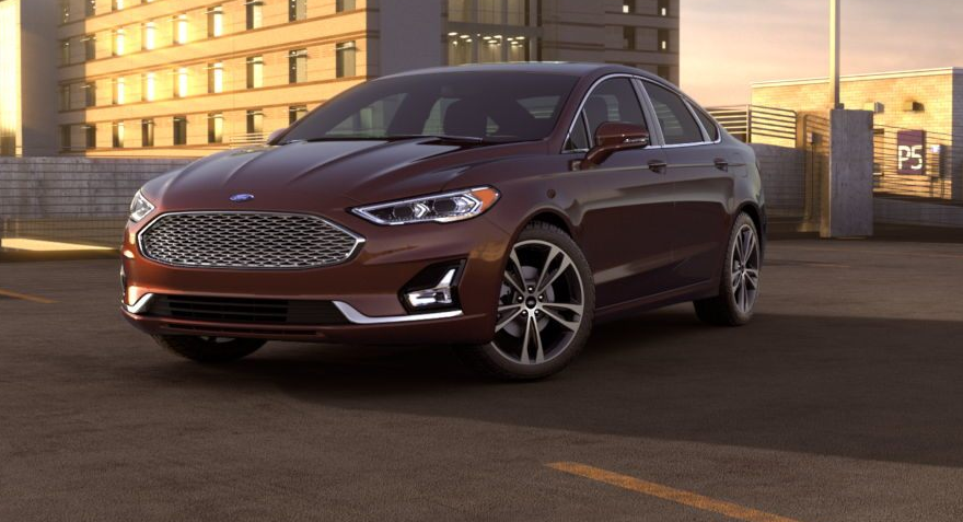 2021 Ford Fusion Hybrid Exterior