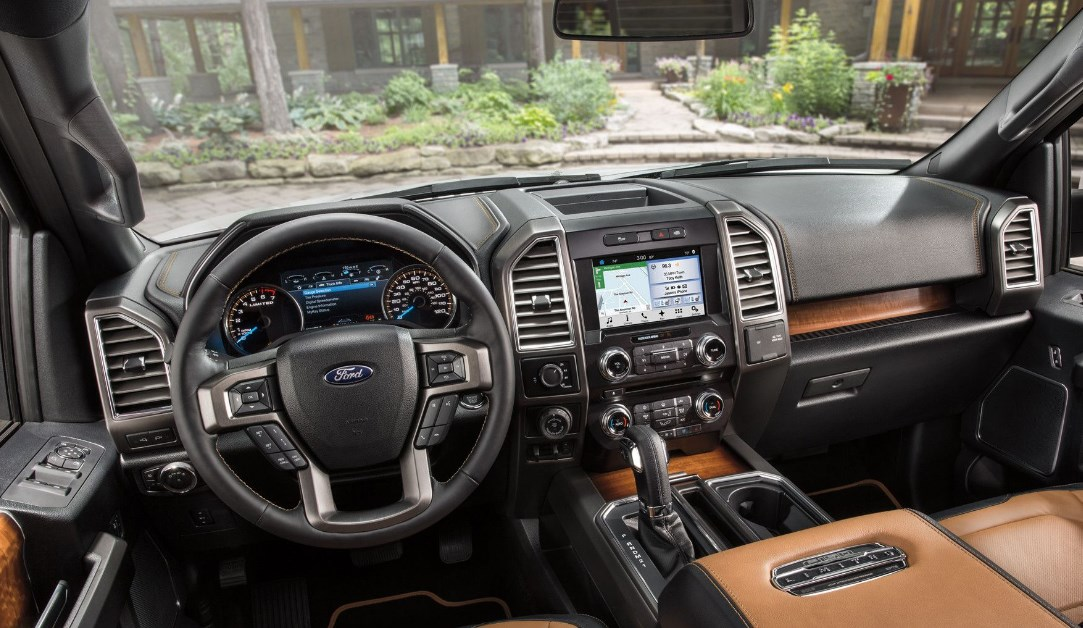 2021 Ford Shelby Truck Interior