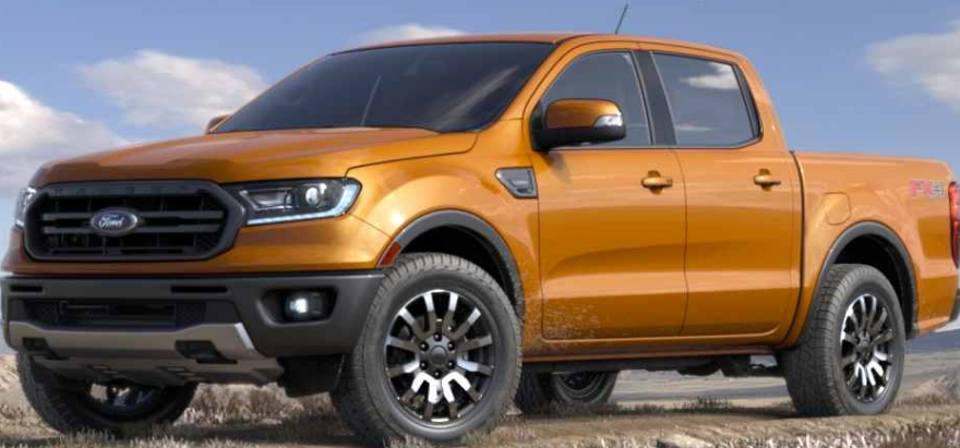 2021 New Ford Ranger Exterior