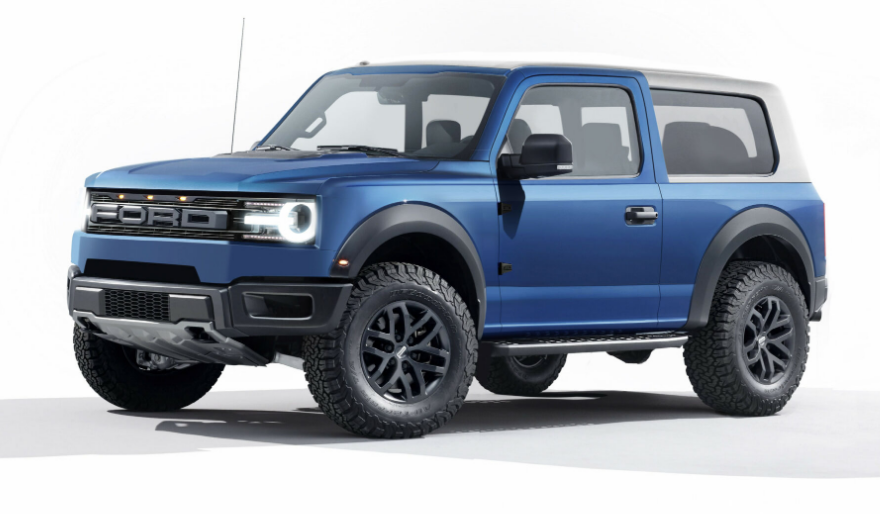 The 2021 Ford Bronco Exterior