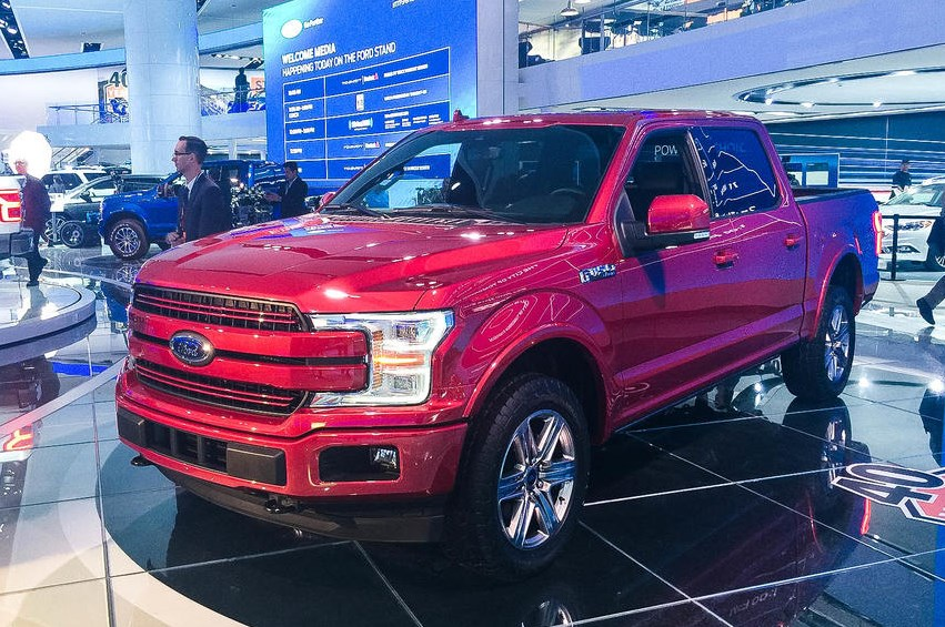 2020 Ford F150 Electric Exterior