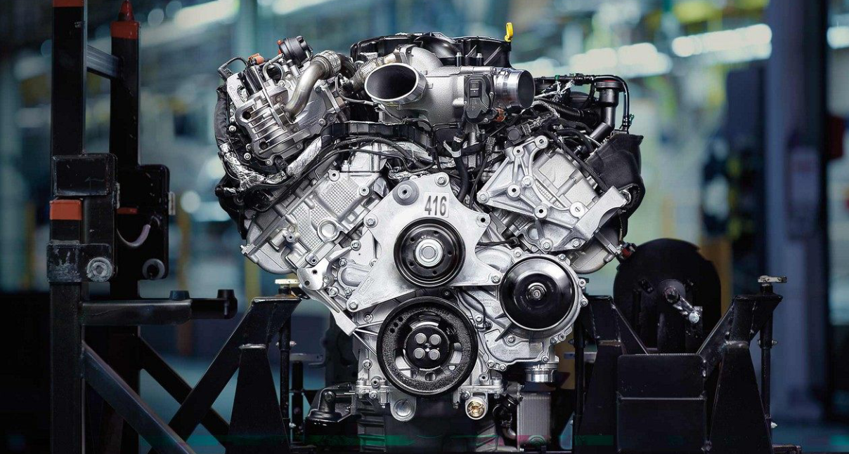 2023 Ford Super Duty Engine