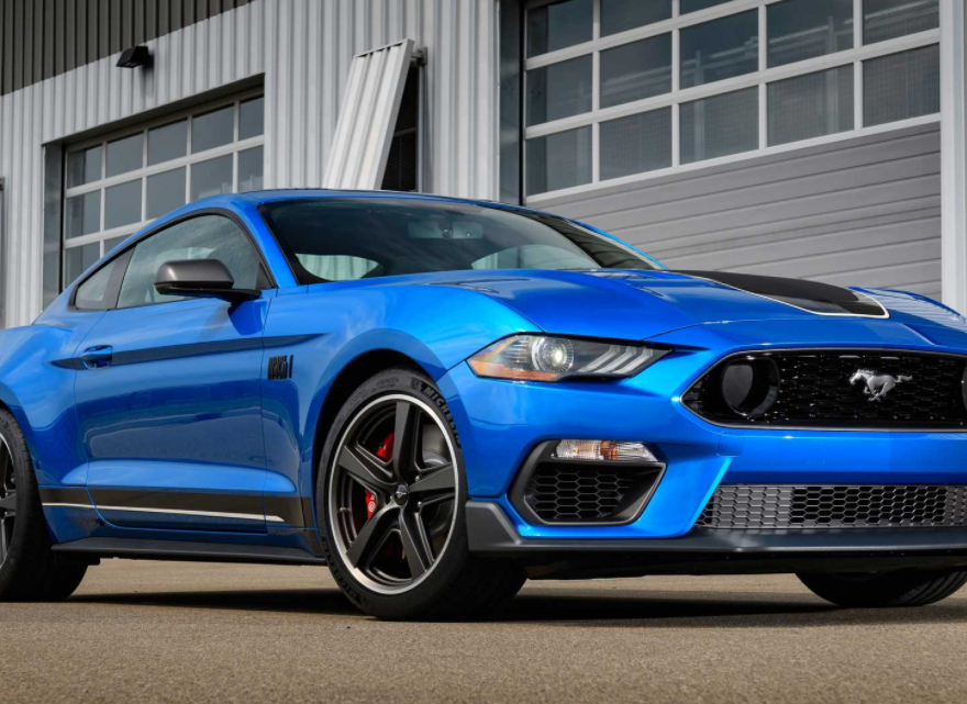 2021 Ford Mustang Mach 1 Exterior