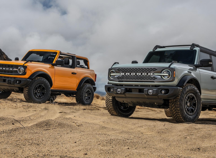 New 2022 Ford Bronco Exterior