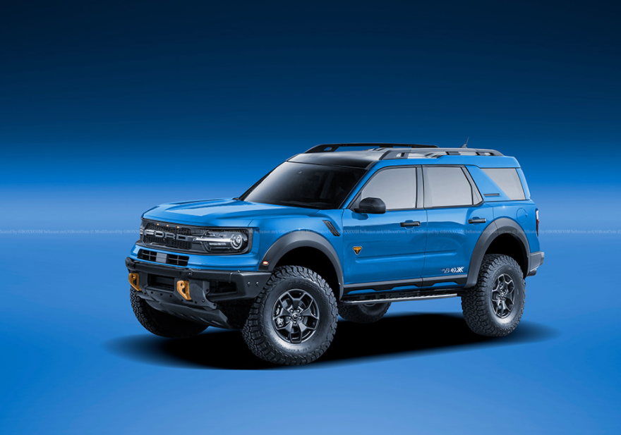2022 Ford Bronco Raptor Exterior