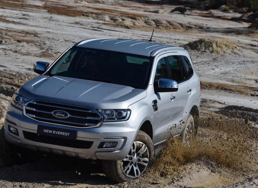 2023 Ford Everest Exterior