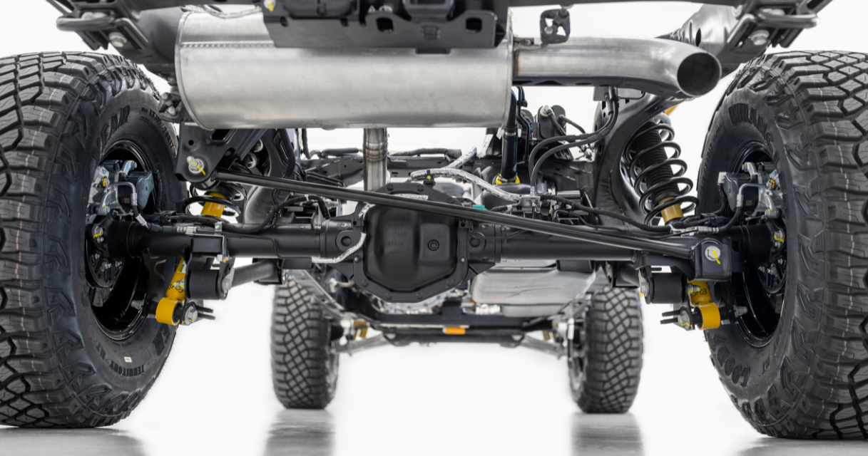 2023 Ford Bronco Truck Engine